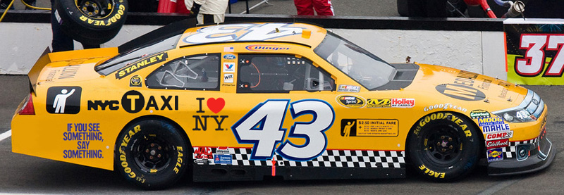New york city taxi driver joins nascar by mitch lemus for Motor vehicle ny pay tickets